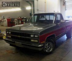 1987 Chevrolet R10 - 15x8 -6.35mm - Cragar Super Sport - Lowered 2F / 4R - 265/20R15