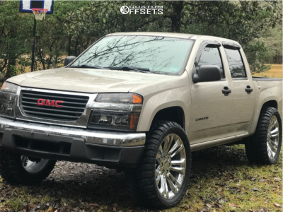 """2005 GMC Canyon - 22x9 0mm - Factory Reproductions Fr55 - Suspension Lift 3"""" - 33"""" x 12.5"""""""