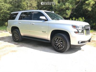 """2020 Chevrolet Tahoe - 20x9 -12mm - Moto Metal Mo985 - Leveling Kit - 33"""" x 9.5"""""""