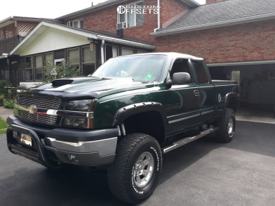 "2003 Chevrolet Silverado 1500 - 16x8.5 -12mm - Mb Wheels Gunner - Suspension Lift 6"" - 35"" x 12.5"""