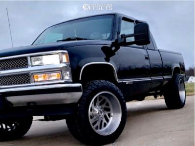 "1997 Chevrolet K1500 - 20x12 -44mm - Fuel Triton - Suspension Lift 3"" - 33"" x 12.5"""