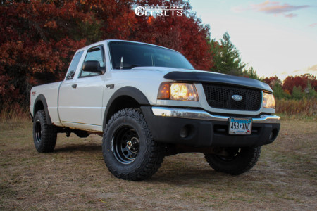 """2003 Ford Ranger - 15x10 -39mm - Vision D Window - Stock Suspension - 31"""" x 10.5"""""""