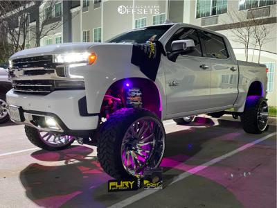 "2019 Chevrolet Silverado 1500 - 26x14 -72mm - Tuff T2a - Suspension Lift 10"" - 35"" x 13.5"""
