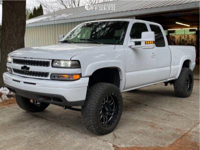 "1999 Chevrolet Silverado 1500 - 20x10 -24mm - LRG 116 - Suspension Lift 6"" - 33"" x 11.5"""