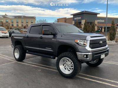 "2019 Toyota Tundra - 22x12 -44mm - Xtreme Force Xf8 - Suspension Lift 8"" - 37"" x 13.5"""