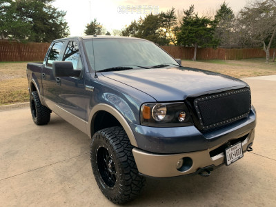 "2006 Ford F-150 - 18x9 18mm - XD Xd820 - Leveling Kit - 33"" x 12.5"""