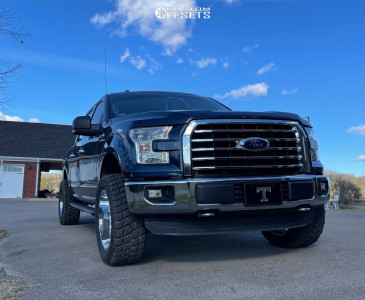 """2015 Ford F-150 - 20x10 -25mm - Vision 361 - Leveling Kit - 33"""" x 12.5"""""""