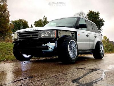 "2007 Land Rover Range Rover Sport - 20x12 -51mm - Vision Rocker - Stock Suspension - 33"" x 12.5"""