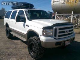 "2005 Ford Excursion - 18x9 -12mm - Method NV - Suspension Lift 5"" - 315/70R18"