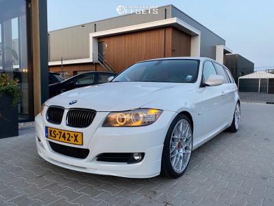 2011 BMW 3 Series - 19x9 32mm - BBS Rx-r - Lowering Springs - 245/35R19