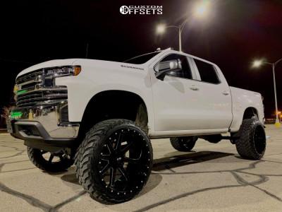 """2020 Chevrolet Silverado 1500 - 26x14 -76mm - Xtreme Mudder Xm-304 - Suspension Lift 10"""" - 37"""" x 13.5"""""""