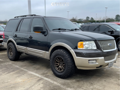 """2003 Ford Expedition - 17x9 -12mm - Fuel Rebel - Stock Suspension - 33"""" x 11.5"""""""
