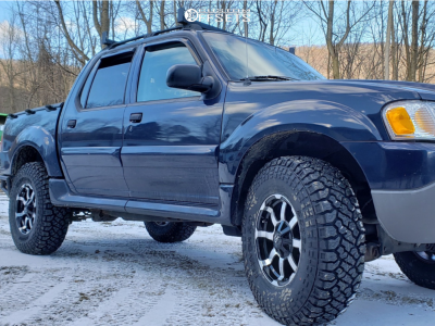 "2004 Ford Explorer Sport Trac - 17x8.5 0mm - Vision Valor - Suspension Lift 2.5"" - 35"" x 10.5"""