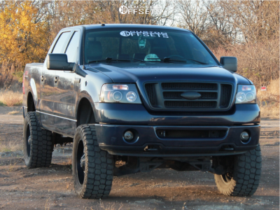 "2006 Ford F-150 - 20x10 -24mm - TIS 535b - Suspension Lift 6"" - 35"" x 12.5"""