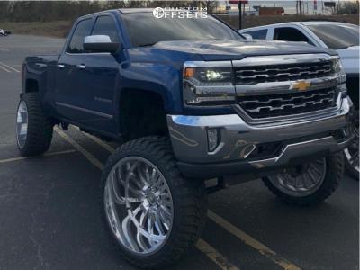 "2018 Chevrolet Silverado 1500 - 26x14 -76mm - Cali Offroad Summit - Lifted >12"" - 37"" x 13.5"""