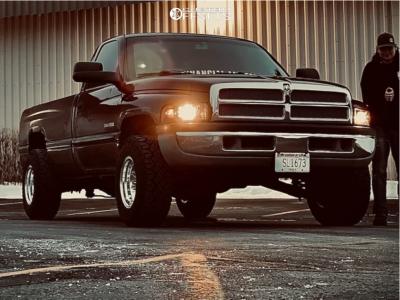 2001 Dodge Ram 2500 - 16x10 -25mm - Pro Comp 69 - Leveling Kit - 265/75R16