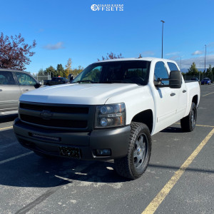 2011 Chevrolet Silverado 1500 - 20x8.5 30mm - American Racing ATX Series 182 Storm - Leveling Kit - 275/60R20