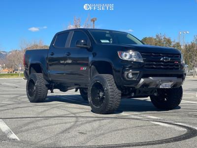 "2021 Chevrolet Colorado - 20x12 -44mm - Anthem Off-Road Equalizer - Air Suspension - 33"" x 12.5"""