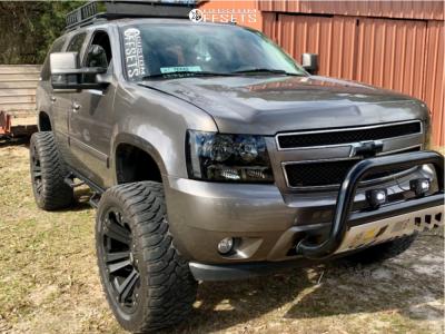 "2012 Chevrolet Tahoe - 24x12 -44mm - XD Monster - Suspension Lift 7.5"" - 37"" x 13.5"""