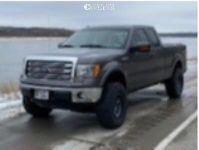 "2013 Ford F-150 - 18x9 0mm - Fuel Ammo - Suspension Lift 4"" - 35"" x 12.5"""