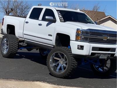 "2015 Chevrolet Silverado 2500 HD - 26x14 -81mm - ARKON OFF-ROAD Lincoln - Suspension Lift 12"" - 40"" x 15.5"""