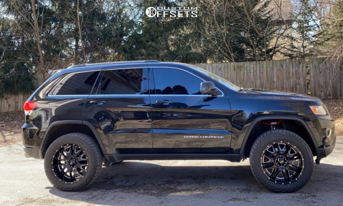 "2015 Jeep Grand Cherokee - 20x9 -12mm - Ultra Hunter - Suspension Lift 3"" - 32"" x 12.5"""