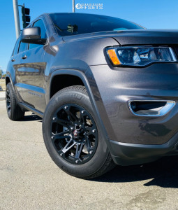 2020 Jeep Grand Cherokee - 18x9 12mm - Ballistic Jester - Stock Suspension - 265/55R18