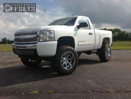 "2011 Chevrolet Silverado 1500 - 20x12 -44mm - Fuel Maverick - Suspension Lift 7.5"" - 35"" x 12.5"""