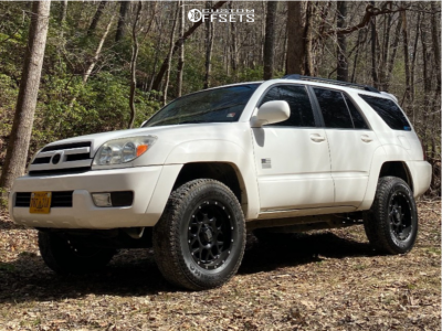 """2005 Toyota 4Runner - 17x8.5 0mm - XD XD820 - Leveling Kit - 32"""" x 10.5"""""""