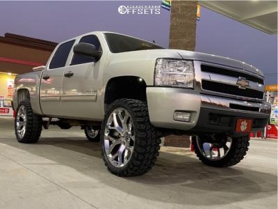 "2011 Chevrolet Silverado 1500 - 26x10 26mm - OE Performance 176 GM Accessory - Suspension Lift 6.5"" - 37"" x 13.5"""