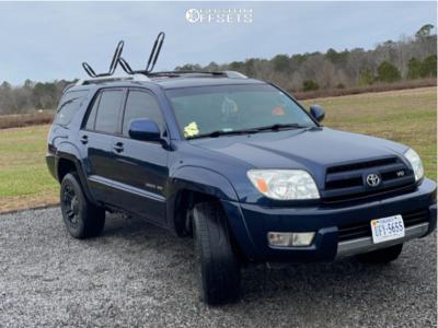 "2004 Toyota 4Runner - 18x10 -24mm - XD Xd822 - Stock Suspension - 25"" x 8.5"""