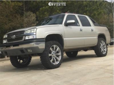 "2004 Chevrolet Avalanche 1500 - 22x9 31mm - OE Revolution G06 - Leveling Kit - 35"" x 12.5"""