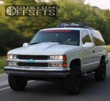 1994 Chevrolet Blazer - 16x8 0mm - Pro Comp 01 - Leveling Kit - 285/70R16
