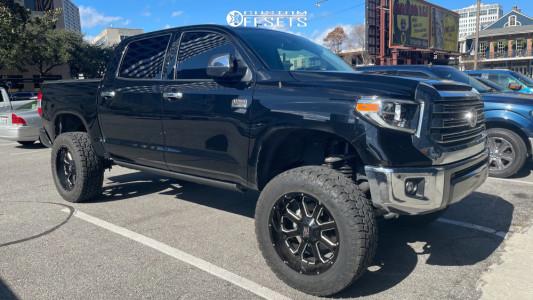 "2019 Toyota Tundra - 22x10 -18mm - XD Buck 25 - Suspension Lift 8"" - 37"" x 12.5"""