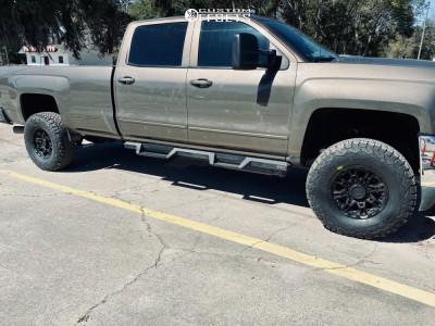 "2015 Chevrolet Silverado 2500 HD - 17x8.5 0mm - Level 8 Slingshot - Suspension Lift 3"" - 315/70R17"