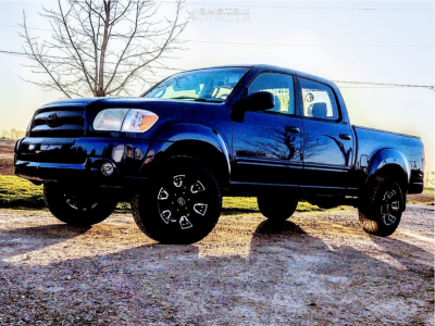 "2006 Toyota Tundra - 17x9 0mm - Panther Off-road 904 - Leveling Kit - 31"" x 70"""