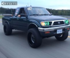 1997 Toyota Tacoma - 20x12 -43mm - Fuel Flow - Leveling Kit - 305/55R20