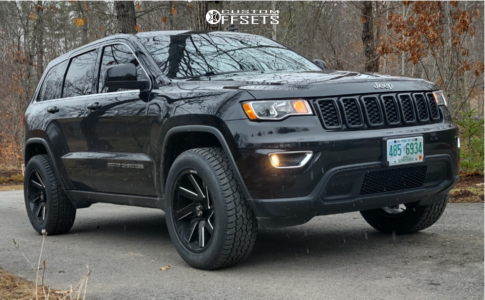 """2018 Jeep Grand Cherokee - 20x10 -24mm - ARKON OFF-ROAD Lincoln - Leveling Kit - 31"""" x 10.5"""""""
