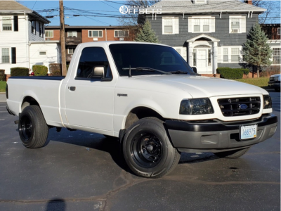 """2002 Ford Ranger - 15x10 -44mm - Pro Comp Series 51 - Stock Suspension - 29"""" x 8.5"""""""