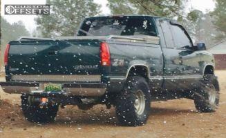 "1998 Chevrolet K1500 - 15x10 -45mm - Mickey Thompson Classic II - Body Lift 3"" - 33"" x 13.5"""