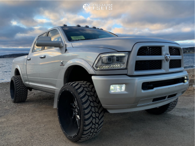 "2017 Ram 2500 - 26x14 -77mm - American Truxx Dna - Suspension Lift 3.5"" - 35"" x 13.5"""
