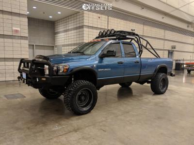 """2006 Dodge Ram 2500 - 20x12 -44mm - Black Rhino Armory - Suspension Lift 6"""" - 36"""" x 15.5"""""""