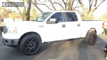 """2007 Ford F-150 - 20x10 -19mm - Fuel Renegade - Stock Suspension - 33"""" x 12.5"""""""