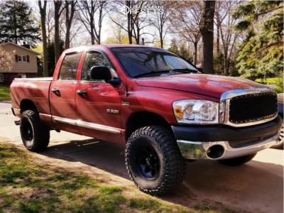"2008 Dodge Ram 1500 - 17x9 -12mm - Mickey Thompson Classic III - Leveling Kit - 35"" x 12.5"""