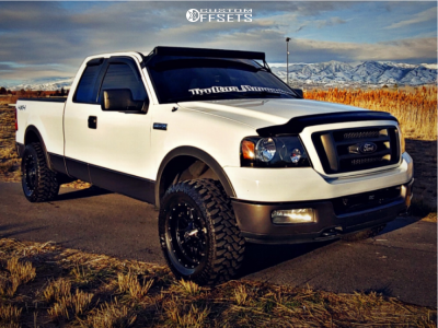 """2004 Ford E-150 - 18x9 -12mm - Fuel Hostage - Leveling Kit - 33"""" x 12.5"""""""