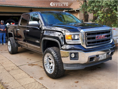 "2014 GMC Sierra 1500 - 20x11 -33mm - Luxxx HD Lhd Pro 1 - Leveling Kit - 33"" x 11.5"""