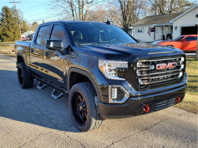 2021 GMC Sierra 1500 - 22x10 -24mm - Ballistic Rage 959 - Stock Suspension - 305/55R22