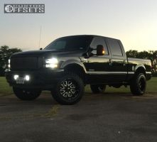 """2003 Ford F-350 Super Duty - 20x12 -43mm - Fuel Flow - Leveling Kit - 35"""" x 12.5"""""""