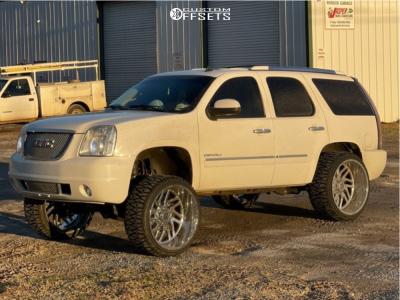 """2013 GMC Yukon - 26x14 -76mm - TIS 544C - Suspension Lift 8"""" - 35"""" x 13.5"""""""