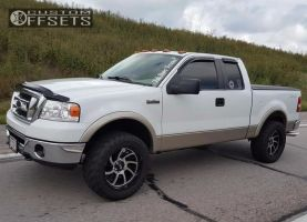 """2008 Ford F-150 - 20x10 -24mm - XD XD826 - Leveling Kit - 33"""" x 12.5"""""""